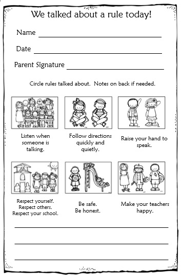 Parents dating rules